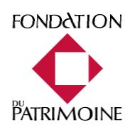 Souscription appuyée par la Fondation du Patrimoine