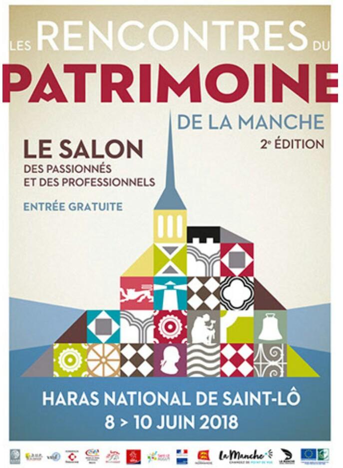 Les secondes rencontres du Patrimoine de la manche : nous serons présents le dimanche 10 Juin au haras de Saint-Lô