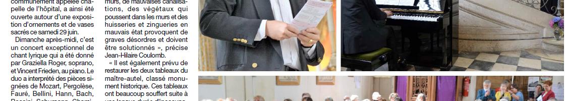 Participation a la nuit des églises, un succès pour l'ARCA et les visiteurs